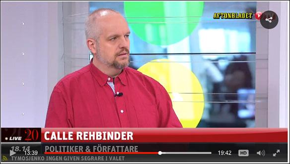 Calle på Aftonbladet TV