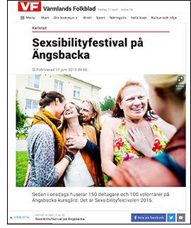 VF om Sexsibilityfestivalen 2015