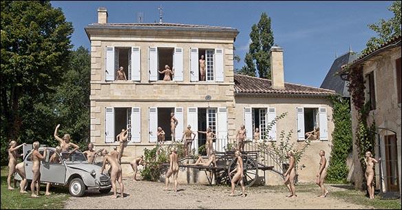 Komposit - Jennie på Chateau Garreau