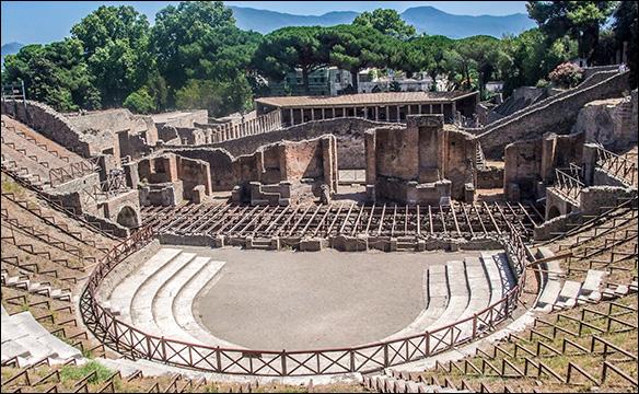 Odeonteatern i Pompeji