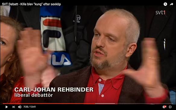 SVT Debatt om sexköp