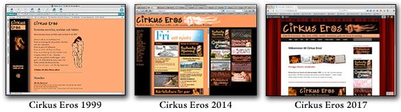Cirkus Eros historia