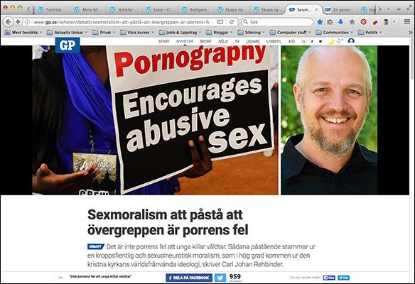 GP artikel om sexmoralism