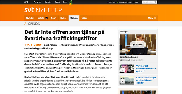 SVT Opinion