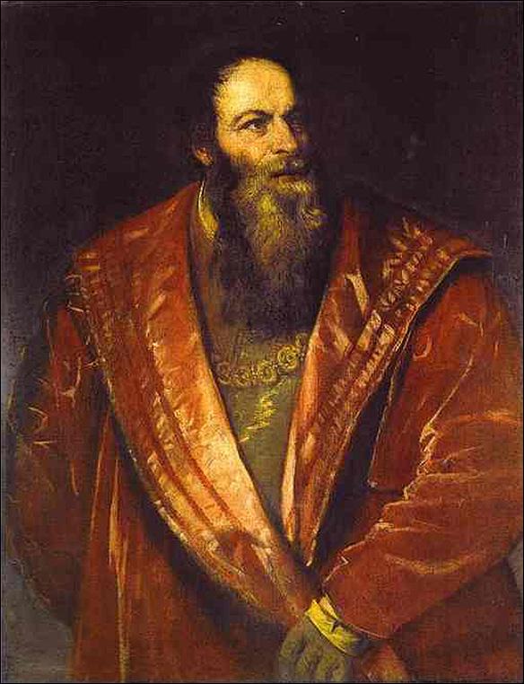 Pietro Aretino by Titian
