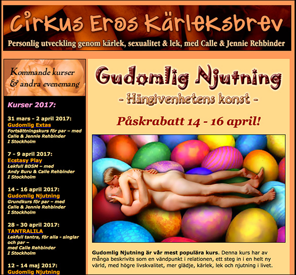 Cirkus Eros Kärleksbrev 170310