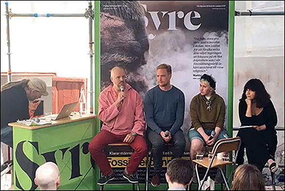 Debatt om kroppslig autonomi i Almedalen 2017