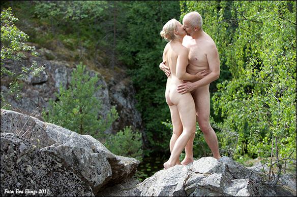 Calle & Jennie i Nackareservatet - foto Eva Elings 2011
