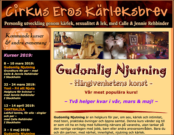 Cirkus Eros Kärleksbrev