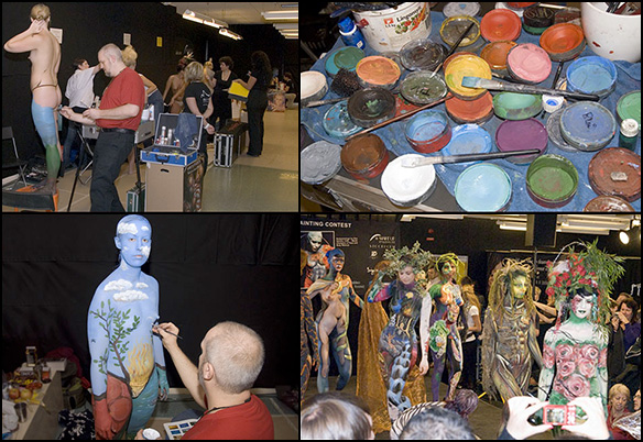 Stockholm Body Painting Contest 2008