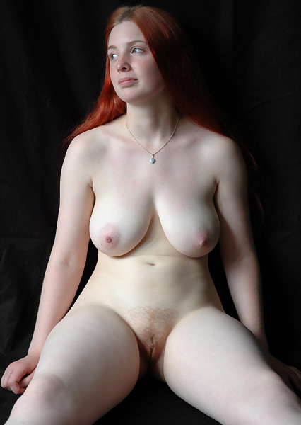 Big ass red head