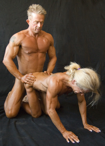 Naked female bodybuilder muscle fucking cumshot 6
